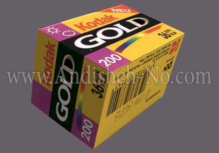 3KODAK%20film%20with%20sensitivity - مفهوم گین ( gain ) در عکس و فیلم
