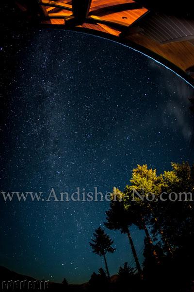 5Shooting%20stars%20in%20the%20night%20sky - نحوه عکاسی از ستارگان چگونه است