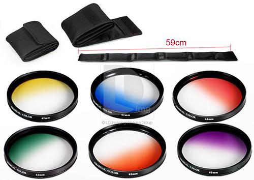 فیلتر عکاسی با جنس های مختلف