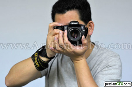 عکاسی با دست چپ