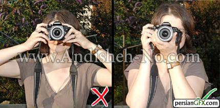 عکاسی ونحوه گرفتن دوربین