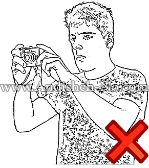 غلط گرفتن دوربین