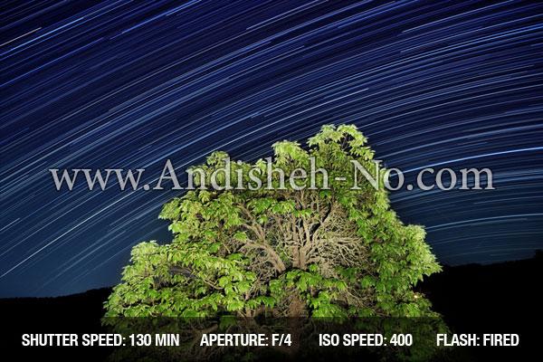 سرعت شاتر در عکاسی در شب